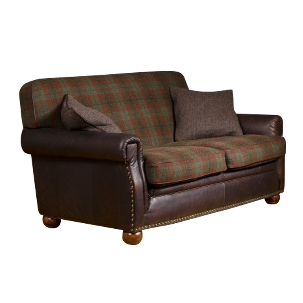 Leather and tweed sofa for Leather and tweed sofa